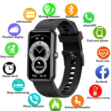 New Smart Watch Men Women Smartwatch Heart Rate Fitness Tracker Bracelet Sport W Band 6 For Huawei Xiaomi Android IOS Phone