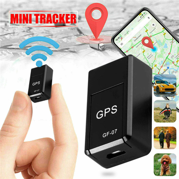 цена на Magnetic Mini GPS Tracker Car GSM GPRS Kids  Real Time Tracking Locator Device GPS Real-time Vehicle Locator + Time 4-6 Days