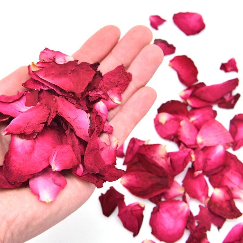 Аромат Ванна Спа Душ Инструмент Отбеливание Ванна Красота Тело Нога Кожа Уход 30% 2F50% 2F100g Сушеный Роза Лепестки Натуральный Сухой Цветок