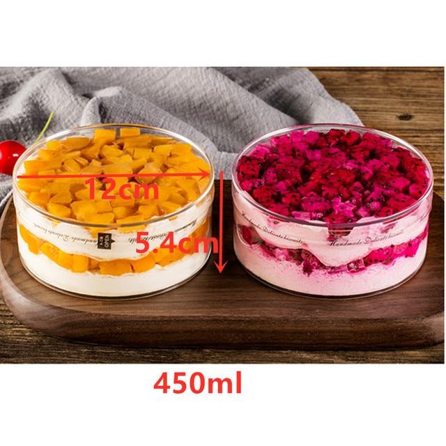 20pcs Plastic Cake  Mousse Dessert cup  Pudding cup Disposable Party Milk Convenient Tiramisu Birthday Wedding Ice Cream cup