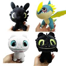 15cm/18cm mini Movie How to Train Your Dragon Night Fury Toothless girlfriend soft plush toys for children gift christmas
