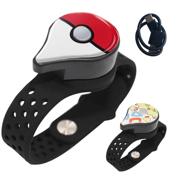 Auto Vangst Monster Powermon Voor Pokemon Gaan Plus Auto Catch Voor Bluetooth-Compatibel Polsband Armband Horloge Oplaadbare tanie i dobre opinie M sman Geen All Compatible Adhesive Tape Message Reminder english Leven Waterdichte Cn (Oorsprong) Adult For Pokemon Go Plus Bluetooth Wristband