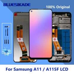 ЖК-дисплей 6,4 дюйма для Samsung Galaxy A11 A115F A115F/DS, сенсорный ЖК-экран, дигитайзер для Samsung A115, запасные части