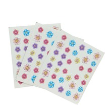 3Pcs Floret pattern nail sticker Flower designs transfer water decal Nail Art Decoration for Manicure Watermark  E09