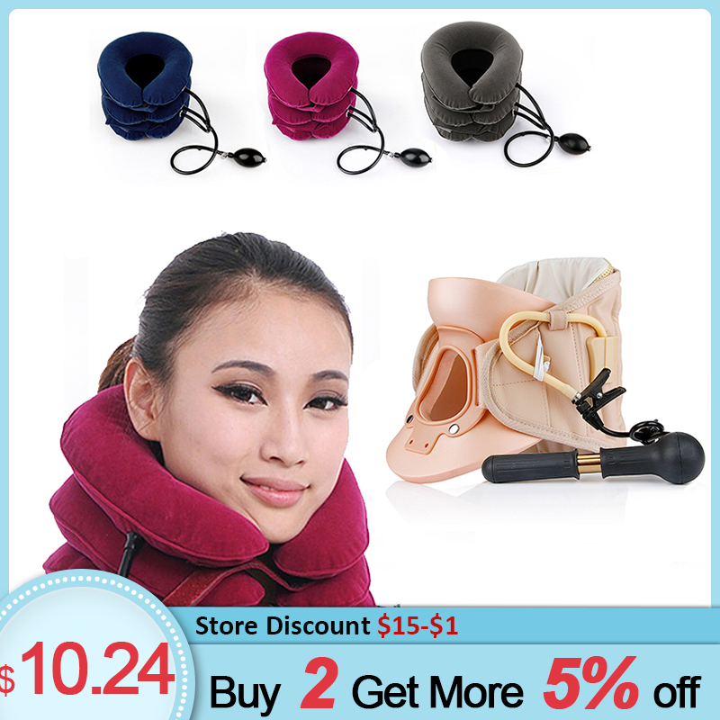 Inflatable Collar For Neck Stretch Inflatable Cervical Collar Neck Stretching Devices Cervical Traction Support Brace