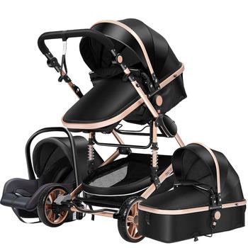 Wózek dziecięcy 3 w 1 wózek noworodka wózek dziecięcy wysoki wózek spacerowy dla dziecka wózki dla 0-36 miesięcy wózek dla dziecka tanie i dobre opinie Magic ZC 7-9 M 19-24 M 0-3 M 4-6 M 10-12 M 13-18 M 50KG Numer certyfikatu