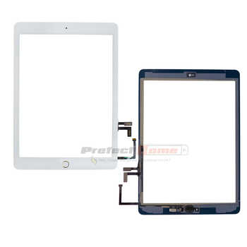 HuaSha New 2017 Year A1822 A1823 Touch Screen For iPad Digitizer Outer LCD Panel Front Glass With Sticker+Tempered Glass+Tools