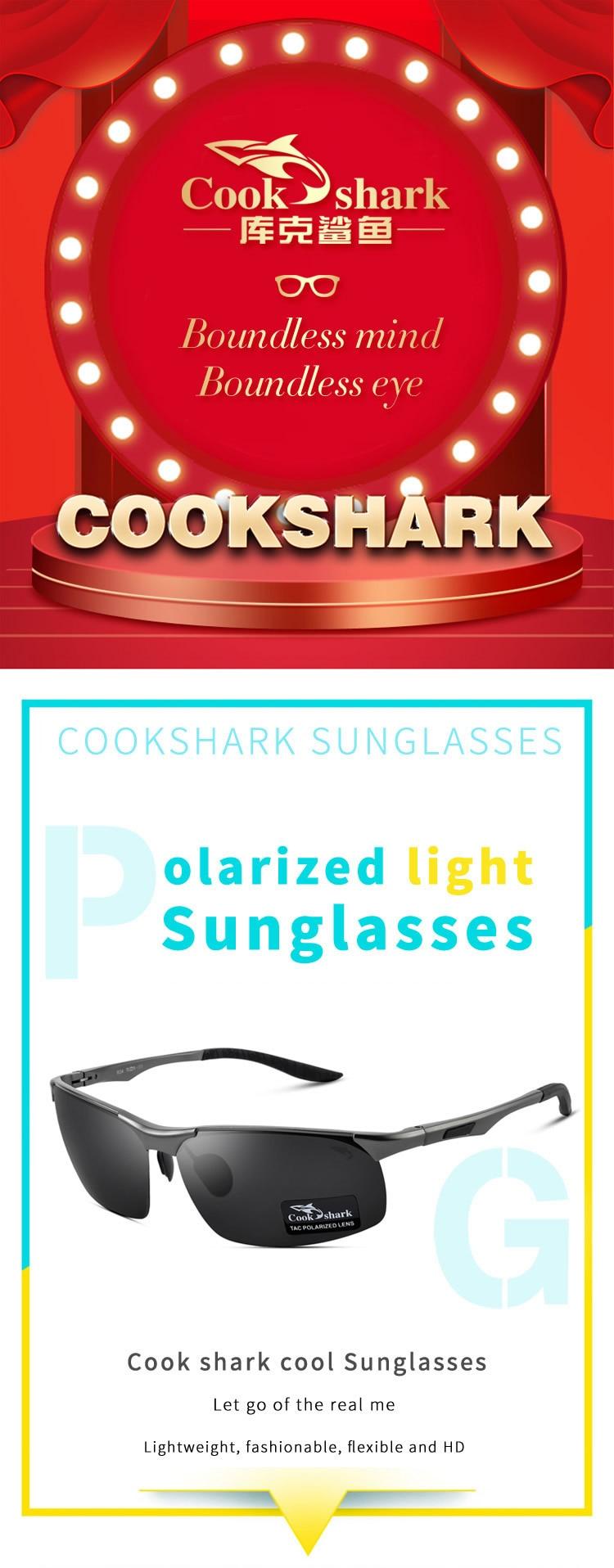 ochelari de soare cook shark
