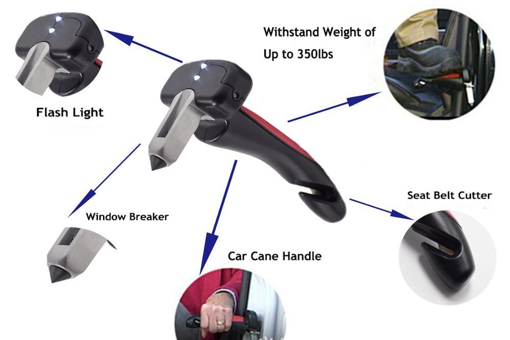 Auto Accessorie Safety Hammer Elderly Alighting Assistance Pregnant Woman Alighting Assistance Car Handle