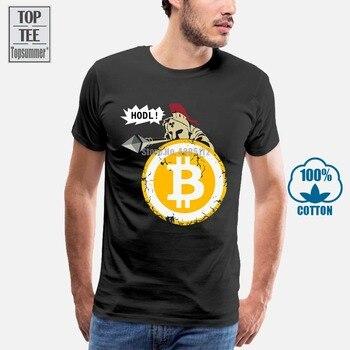 Bitcoin Hodl Your Cryptos T-Shirts 3D T-Shirt Men Tee Shirt Hip Hop T-Shirts Short Sleeve T-Shirt Men White T Shirt Black Tshirt 1