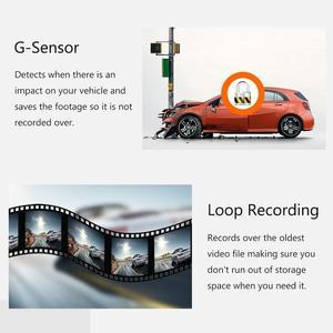 Image 5 - RUCCESS araba dvrı Full HD 1080P çizgi kam WIFI araba kamera kayıt cihazı 24H park monitörü gece görüş İngilizce/rusya versiyonu