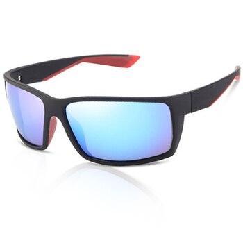 580P Polarized Sunglasses Men Classic Square Driving Sun Glasses Male Reefton For UV400 Oculos