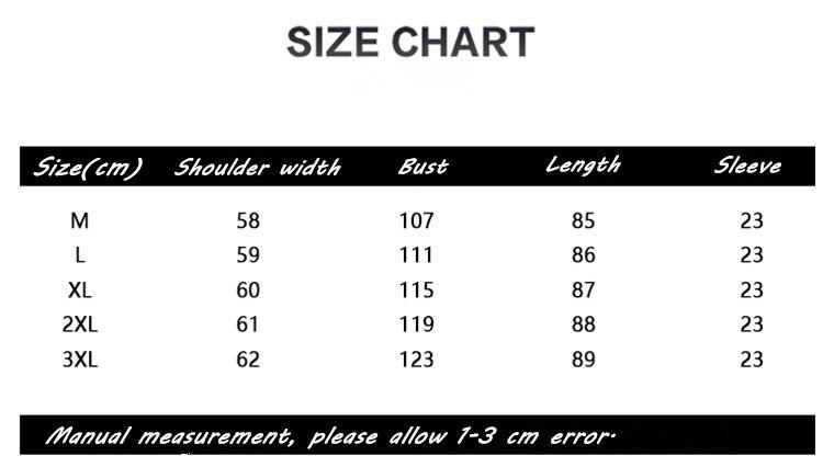 8371 size chart