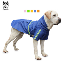 Cuttie Dog Clothes Raincoat for Large Dogs Rain Coat Luminous Overalls for Small Dogs Raincoat Waterproof Chihuahua Pet Products