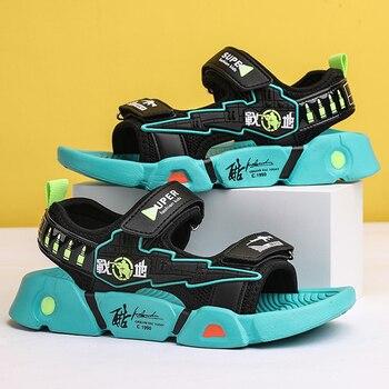 Childrens Buckle-Decoration Summer Sandals