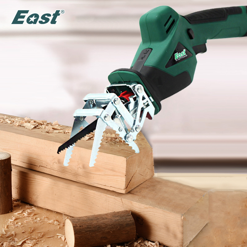 8V Garden Electric Rechargeable Green Cutting ET1510 Metal Wood DIY 10 Battery Saw Reciprocating Tools  Saws Lithium For East