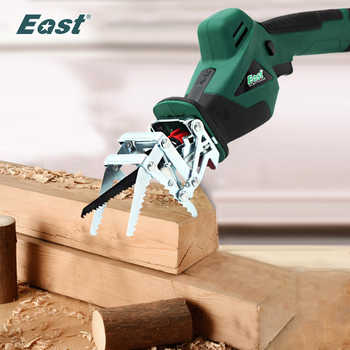 East 10.8V lithium battery Rechargeable Reciprocating Saw ET1510 for Wood Metal Cutting DIY Electric Saws Garden Tools