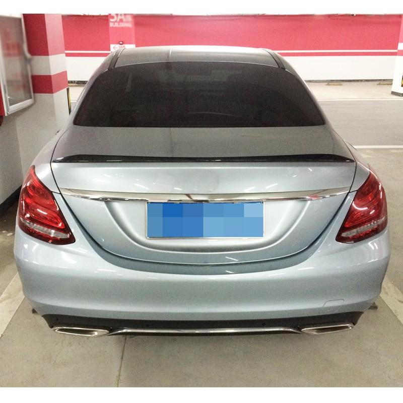Rear Trunk Spoiler Boot Lip for Mercedes Benz W205 C250 C350 C63 AMG 4Door 15-18