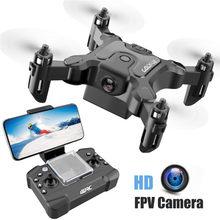 V2 mini zangão hd câmera de altura modo de espera rc quadcopter rtf wifi fpvquadcopter siga-me rc helicóptero quadrocopter kidkid