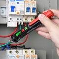 Smart AC Spannung Meter Anzeige Detektor Tester Stift Nicht Kontaktieren Sensor 12V-1000V Empfindlichkeit Einstellbar mit Taschenlampe
