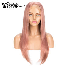 Парики из натуральных волос на шнурках trueme цвет серебристый