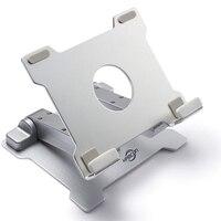Ajustável 15 polegada de alumínio tablet suporte para apple ipad suporte suporte de metal sênior para iphone/samsung/portátil estande tablet stan