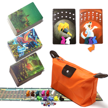 mini tell story card game d i x i t 9,10,11, total 234 playing cards wooden bunny education toys for kids home party board game