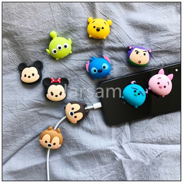 Cartoon Cable Protector Data Cable Wire Protector Cover Cable Cover For IPhone USB Charging Cable For IPhone 7