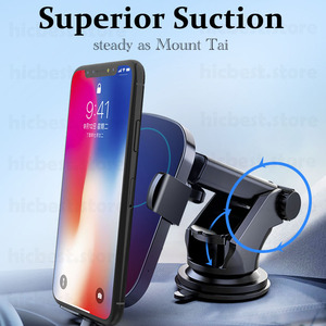 Image 3 - Wireless Car Charger Phone Holder for iPhone Samsung Car Wireless Charging Charger for iPhone 11 Pro X XR XS 8 Samsung S8 S9 S10