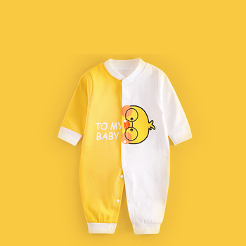 1/2Piece Rompers Newborn Cartoon Bodysuit Cotton Soft Baby Boys Fall Clothes Toddler Girl Cute Jumpsuit 0-2Years Child Clothing