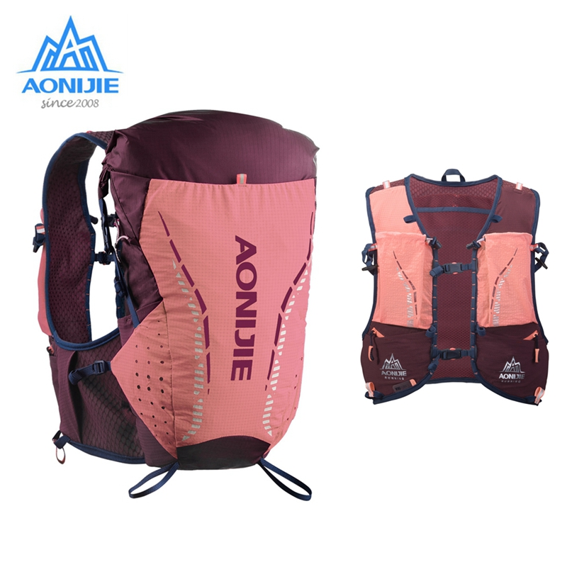 AONIJIE Ultralight 18L Hydration Backpack Sport Pack Outdoor Cycling Vest Portable Bag For Camping Hiking Trailing Running C9104
