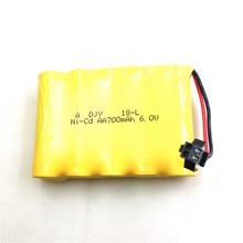 Atualizado 7.4 v 700 mah 15c bateria sm plug & cabo de carregamento usb para fy001 fy002 rc peças de reposição do carro