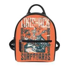 Модная летняя пляжная школьная сумка с принтом на заказ 2020