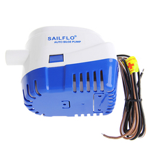2019 New 1100GPH 12V Boat Marine Automatic Submersible Bilge Auto Water Pump Float Switch Pumps Hardware