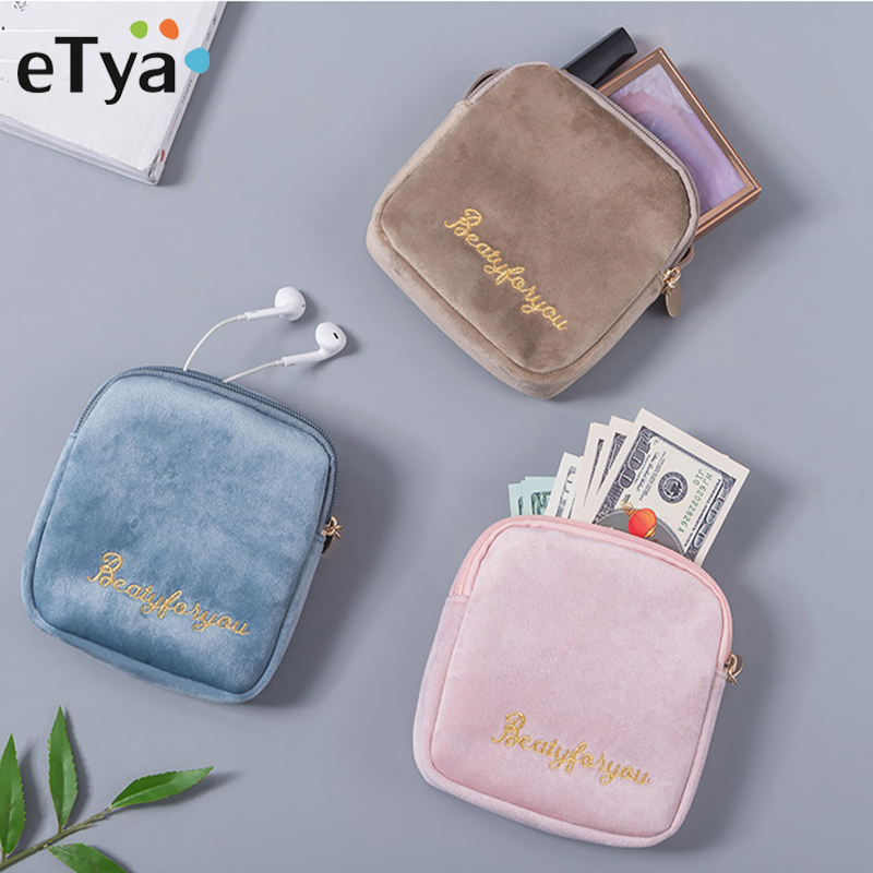 Portable Mini Travel Packing Organizer Bag Makeup Bags Pouch Coin Card Earphone USB Cable Packing Bag Purse Travel Accessories