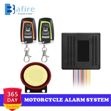 Motorcycle Alarm System Universal Scooter Anti-theft Security Alarm System Two-way With Engine Start Remote Control Key Fob цена в Москве и Питере