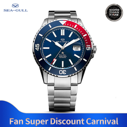 Seagull Automatische Mechanische Horloges Mannen Fashions Business Horloge Synthetische Sapphire Crystal 200 M Water-Proof Horloge 816.523