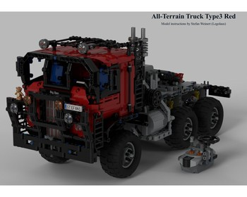 MOC 31099 All Terrain Offroad Truck Type 3 Remote Controlled by Legolaus