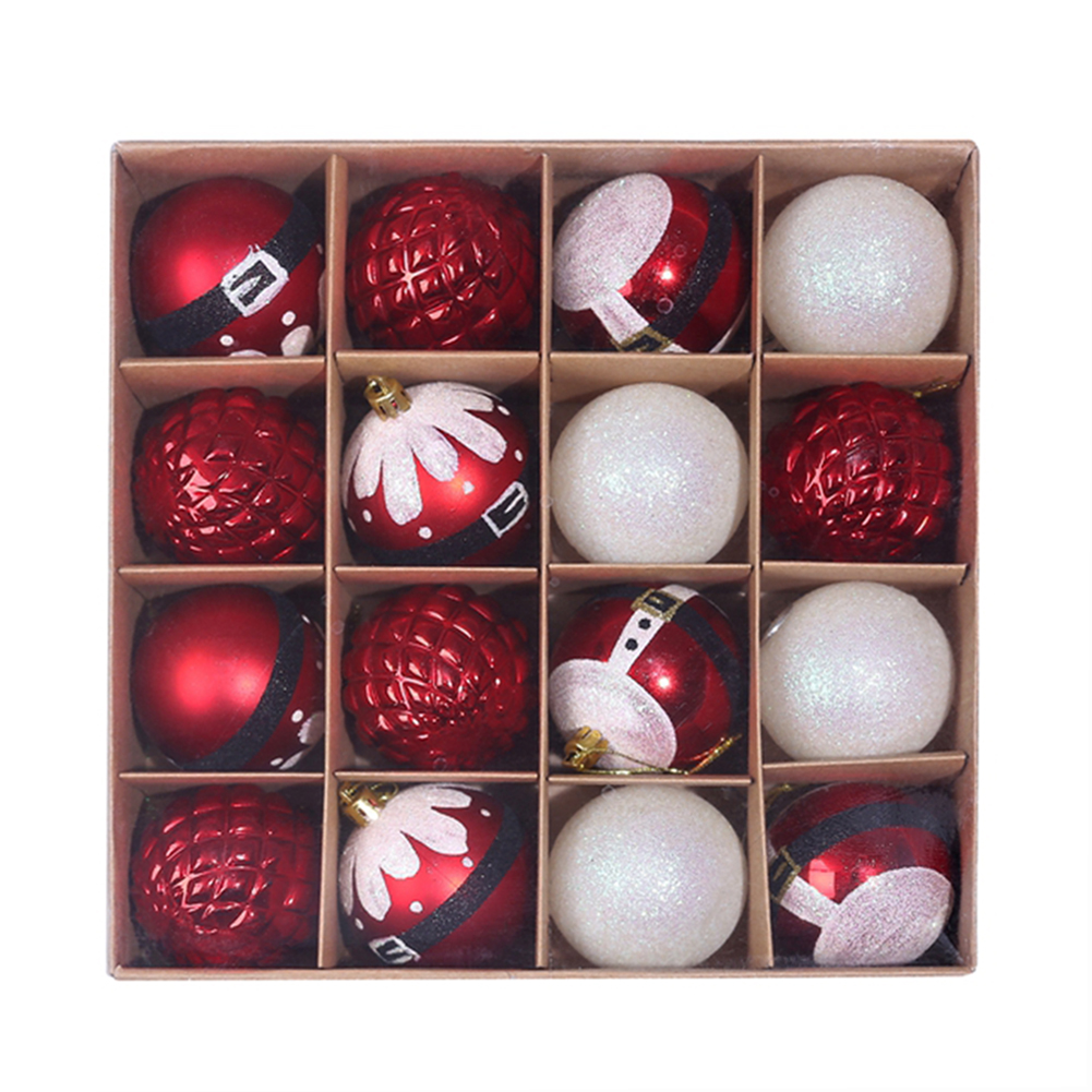16 x Christmas Tree Baubles 12