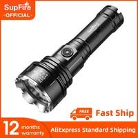SupFire-Linterna potente R3 Cree xhp90 de 36W, linterna recargable por USB, 5 modos, lo mejor para acampar y pescar, 2021