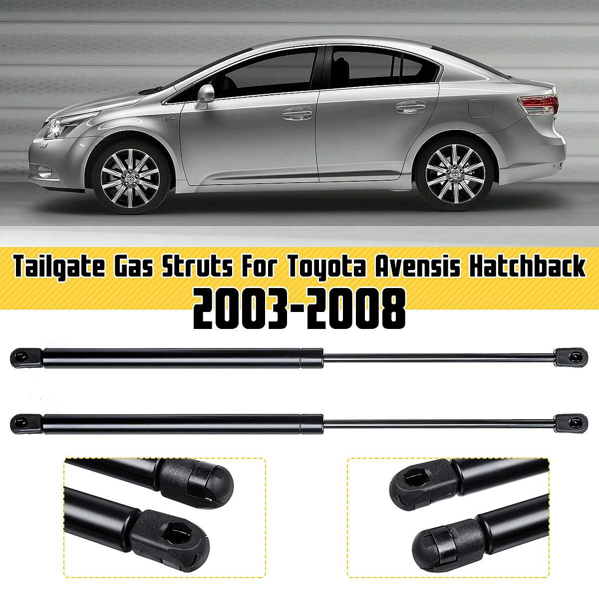 Qty Strong Arm 6415 Fits LEXUS LS430 2001 To 2006 Trunk Lift Supports 2