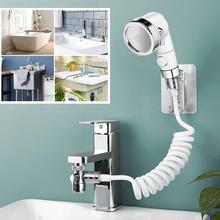 Faucet External Shower Hand Toilet Faucet Filter Flexible Suit Wash Hair House Kitchen Sink Faucet Water Saving