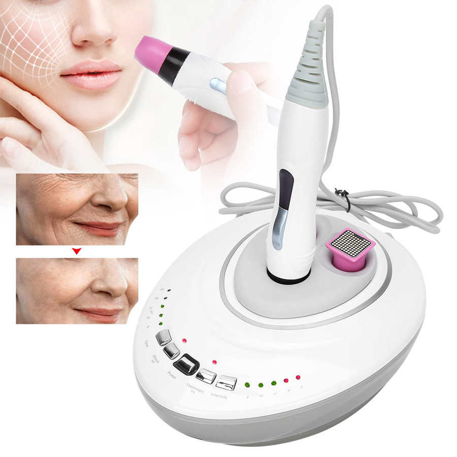 RF Face Firming Lifting Beauty Instrument Facial Body Skin Rejuvenation Tightening Machine Skin Ion Import Devices With 3 probes