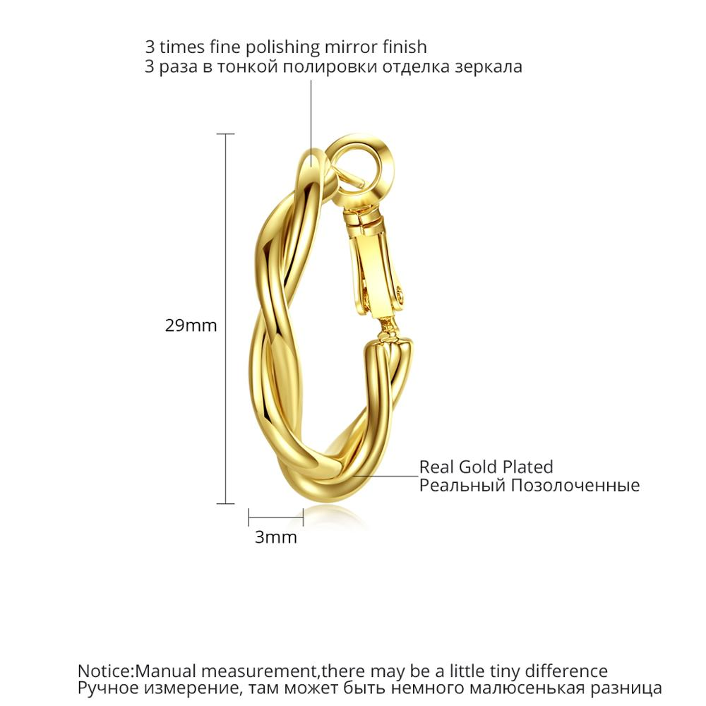 LUOTEEMI-Minimalist-Twist-Type-Round-Earrings-for-Women-Girls-Party-Dating-Korean-Femme-Fashion-Jewelry-Brincos (2)
