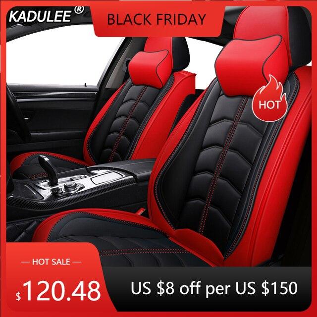 KADULEE fundas de cuero para asiento de coche, accesorios para coche, para Mazda, cx 3, cx 4, CX7, 323, 626, M2, M3, CX 5, 3, Axela, Familia 6, ATENZA 5