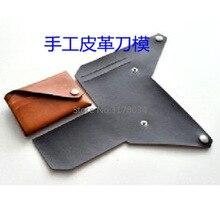 2019 Japan Stahl Klinge Selbst DIY Keine Nähen Gefaltet Karte Halter Leder Handwerk Brieftasche Holz Sterben Schneiden Messer Form Punch