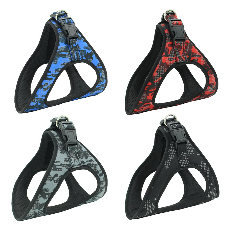 Heavy Duty Dog Pet Harness Collar Adjustable Padded Walking Harnesses For Large Medium Small Dog Vest Husky Dogs Supplies