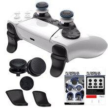 5in1 fps freek polegar apertos para ps5 controlador manche l2 r2 disparador extensor caps miniaturas para playstation ps5 acessórios