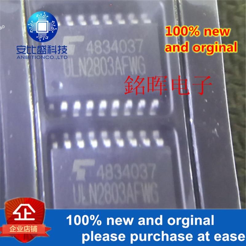 5pcs 100% New And Orginal ULN2803AFWG ULN2803AG SOP18 NPN ULN2803 In Stock
