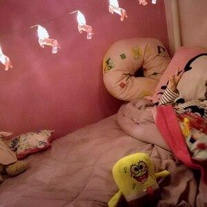 Image 3 - Platos de vasos desechables para fiesta de cumpleaños niños niñas, vajilla de unicornio de feliz cumpleaños, rosa, suministros de fiesta, unicornio